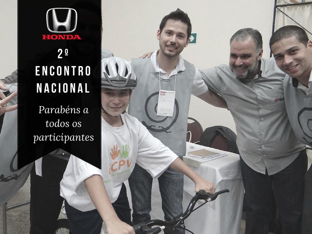 2º Encontro Nacional Honda