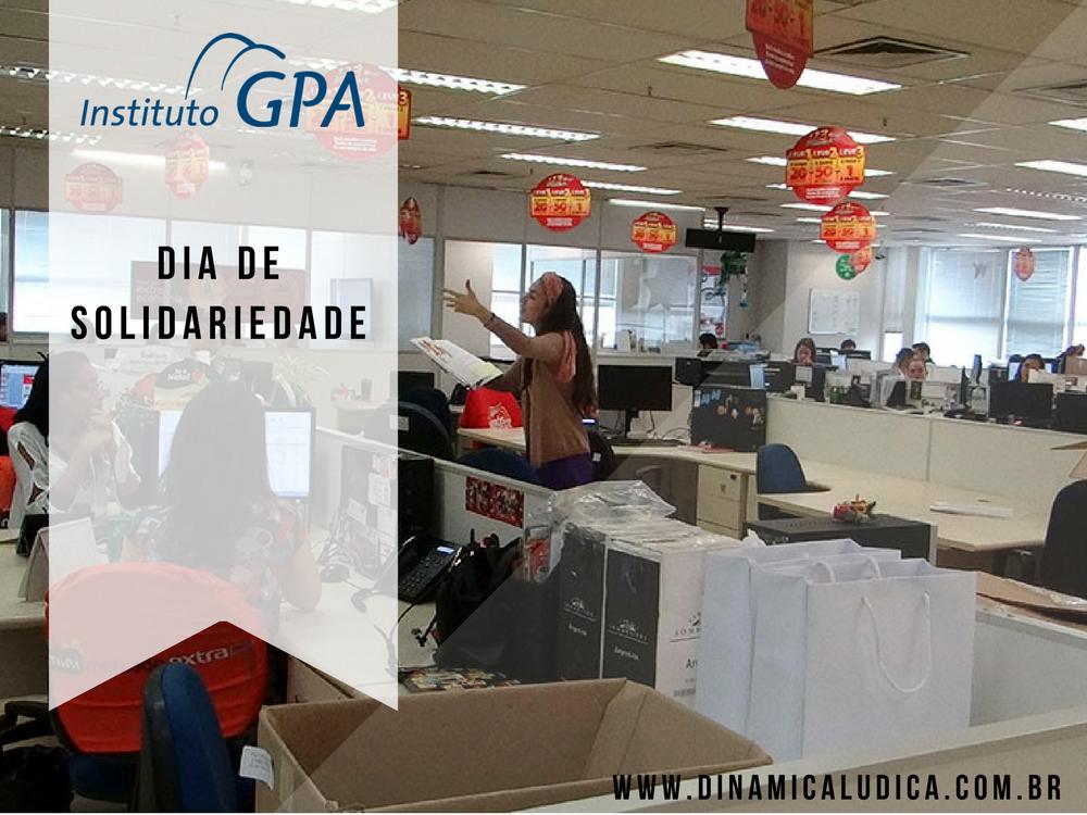 Dia de Solidariedade – Instituto GPA